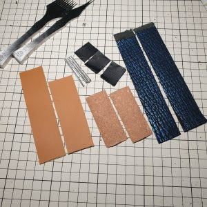 Steps to make a watch strap