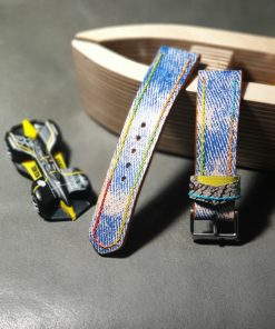 Unique leather watchstrap
