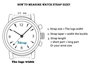 How to measure the wact strap size