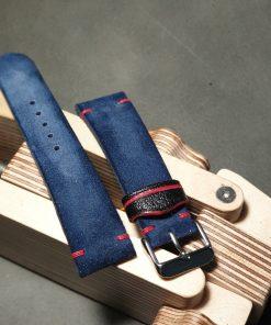 Suede custom strap
