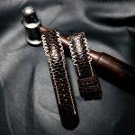 Beavertail leather