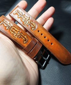 Personalize Leather Watch Strap